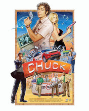 This is an image of 292631 Chuck Photograph & Poster