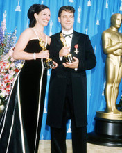This is an image of 293479 Julia Roberts and Russelkl Crowe Photograph & Poster