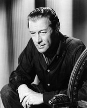 This is an image of 190270 Rex Harrison Photograph & Poster
