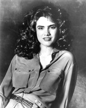 This is an image of 190785 Heather Langenkamp Photograph & Poster