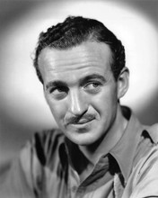 This is an image of 191351 David Niven Photograph & Poster