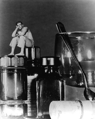 This is an image of 191460 Incredible Shrinking Man Photograph & Poster