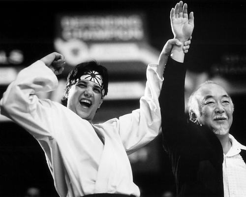 This is an image of 192248 the Karate Kid Part Iii Photograph & Poster