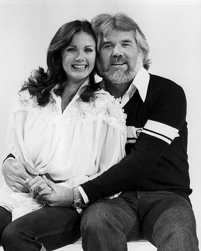 This is an image of 192282 Lynda Carter and Kenny Rogers Photograph & Poster