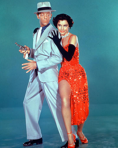 This is an image of 226855 Fred Astaire & Cyd Charisse Photograph & Poster