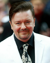 This is an image of 255282 Ricky Gervais Photograph & Poster