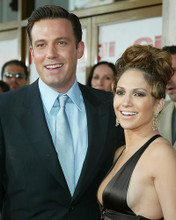 This is an image of 255979 Jennifer Lopez and Ben Affleck Photograph & Poster