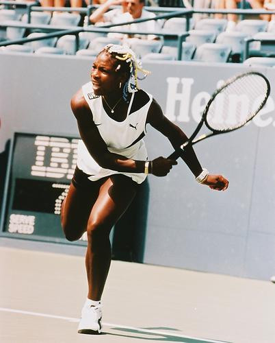 This is an image of 244640 Serena Williams Photograph & Poster