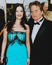 This is an image of 245872 Michael Douglas & Catherine Zeta-Jones Photograph & Poster