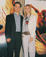 This is an image of 252484 Tobey Maguire & Kirsten Dunst Photograph & Poster