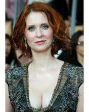 This is an image of 262343 Cynthia Nixon Photograph & Poster