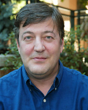 This is an image of 259006 Stephen Fry Photograph & Poster