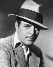 This is an image of 175652 Warner Baxter Photograph & Poster