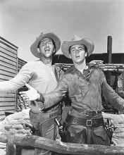 This is an image of 175783 Dean Martin & Ricky Nelson Photograph & Poster