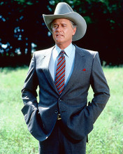 This is an image of 260034 Larry Hagman Photograph & Poster