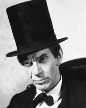 This is an image of 178960 Raymond Massey Photograph & Poster