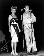 This is an image of 187071 Bob Hope & Betty Grable Photograph & Poster