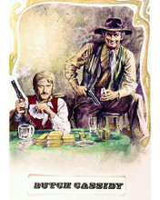 This is an image of 276014 Butch Cassidy and the Sundance Kid Photograph & Poster