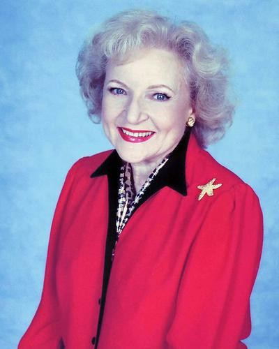 This is an image of 278123 Betty White Photograph & Poster