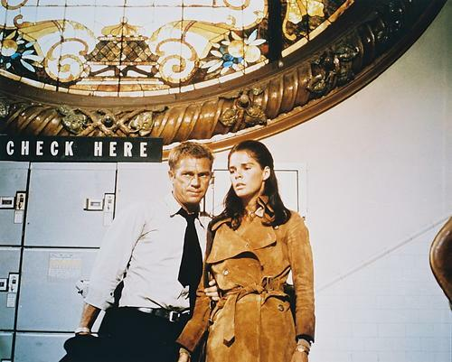 This is an image of 216224 Steve Mcqueen & Ali Macgraw Photograph & Poster