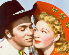 This is an image of 278150 Haward Keel & Betty Hutton Photograph & Poster
