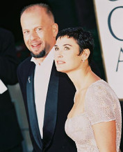 This is an image of 224099 Demi Moore & Bruce Willis Photograph & Poster
