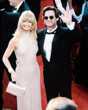 This is an image of 224886 Goldie Hawn & Kurt Russell Photograph & Poster