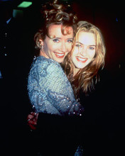 This is an image of 226812 Kate Winslet & Emma Thompson Photograph & Poster