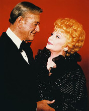 This is an image of 231182 John Wayne & Lucille Ball Photograph & Poster