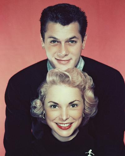 This is an image of 231814 Tony Curtis & Janet Leigh Photograph & Poster
