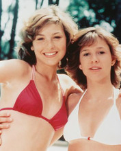 This is an image of 232450 Tatum O'Neal & Kristy Macnicol Photograph & Poster