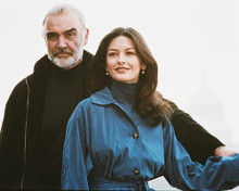 This is an image of 234975 Sean Connery & Catherine Zeta-Jones Photograph & Poster