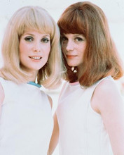 This is an image of 237533 Catherine Deneuve & Francoise Dorleac Photograph & Poster