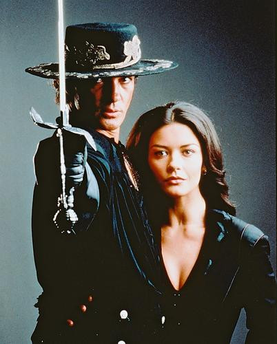 This is an image of 237873 Antonio Banderas & Catherine Zeta-Jones Photograph & Poster