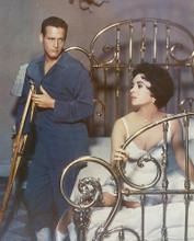 This is an image of 241452 Elizabeth Taylor & Paul Newman Photograph & Poster