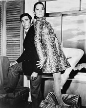 This is an image of 170510 Diana Rigg & George Lazenby Photograph & Poster