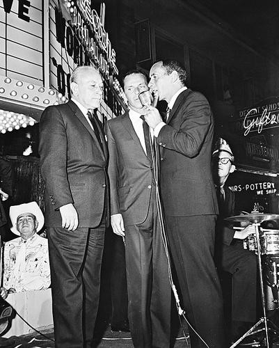 This is an image of 170916 Frank Sinatra & Joey Bishop Photograph & Poster