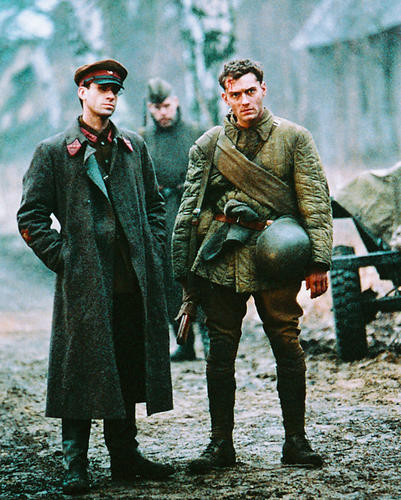 This is an image of 246092 Jude Law and Joseph Fiennes Photograph & Poster