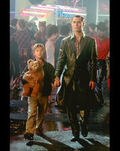 This is an image of 247811 Jude Law & Haley Joel Osment Photograph & Poster