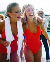 This is an image of 248499 Heather Thomas & Heather Locklear Photograph & Poster