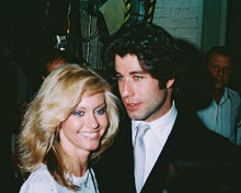 This is an image of 239724 Olivia Newton-John & John Travolta Photograph & Poster
