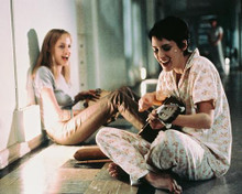 This is an image of 240598 Winona Ryder & Angelina Jolie Photograph & Poster