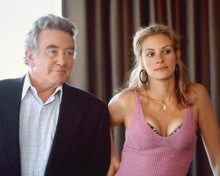 This is an image of 242262 Julia Roberts & Albert Finney Photograph & Poster