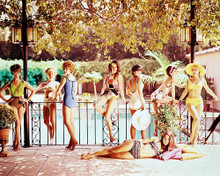 This is an image of 244152 Stefanie Powers & Barbara Eden Photograph & Poster