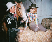 This is an image of 244972 Roy Rogers & Dale Evans Photograph & Poster