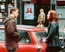This is an image of 247297 Matt Damon & Franka Potente Photograph & Poster
