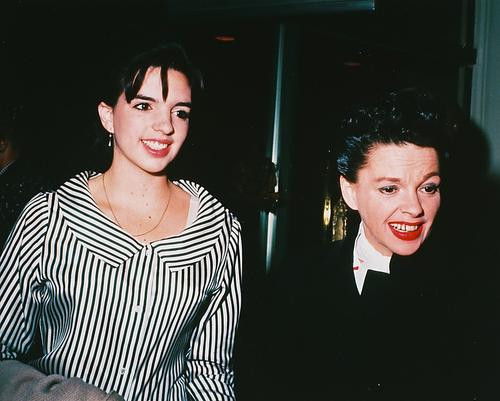 This is an image of 247341 Judy Garland & Liza Minnelli Photograph & Poster