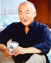 This is an image of 251245 Pat Morita Photograph & Poster