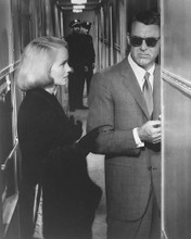 This is an image of 171981 Cary Grant & Eva Marie Saint Photograph & Poster