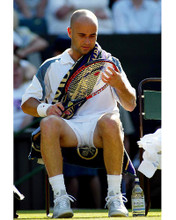 This is an image of 254243 Andre Agassi Photograph & Poster